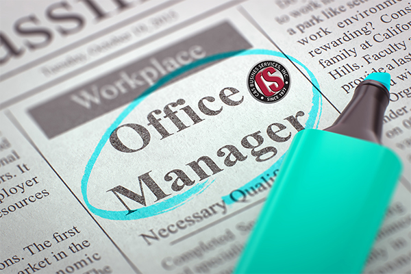 office manager Jefferson City, MO