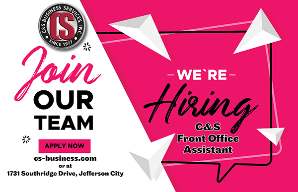 Front Office Assistant in Jefferson City